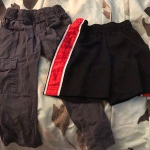 3T shorts and pants bundle